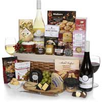snacks and wines