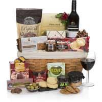 winter gift basket